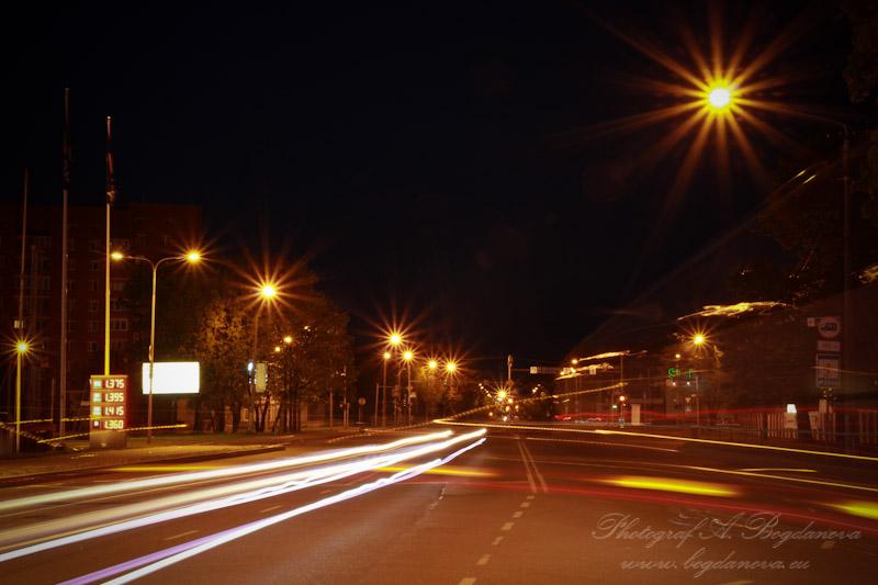 Ночная прогулка по Нарве.