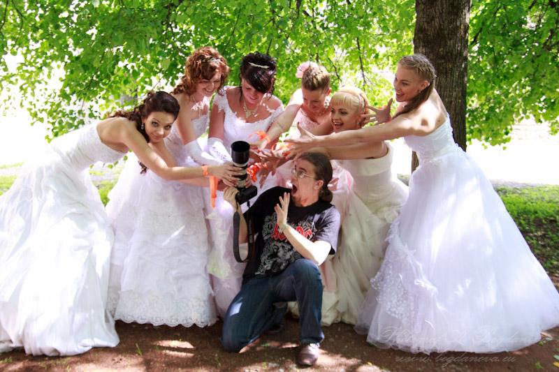 Сбежавшие невесты 2012, девушки